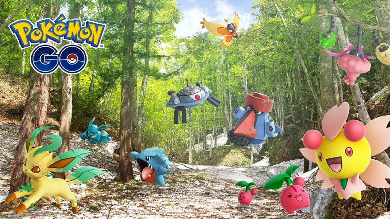 Evento Sinnoh en Pokémon Go