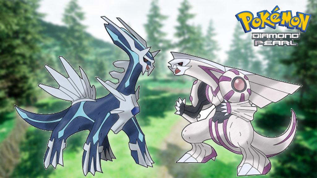 Remake de Pokémon Diamante y Perla