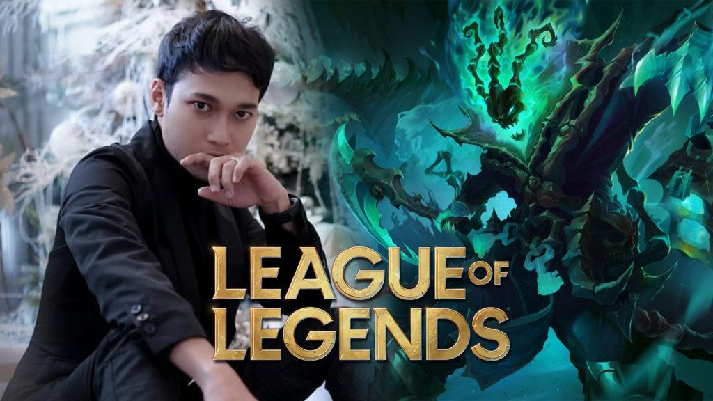 Cosplay Thresh League of Legends