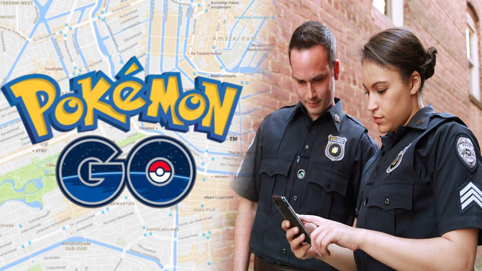 Policía Pokémon Go