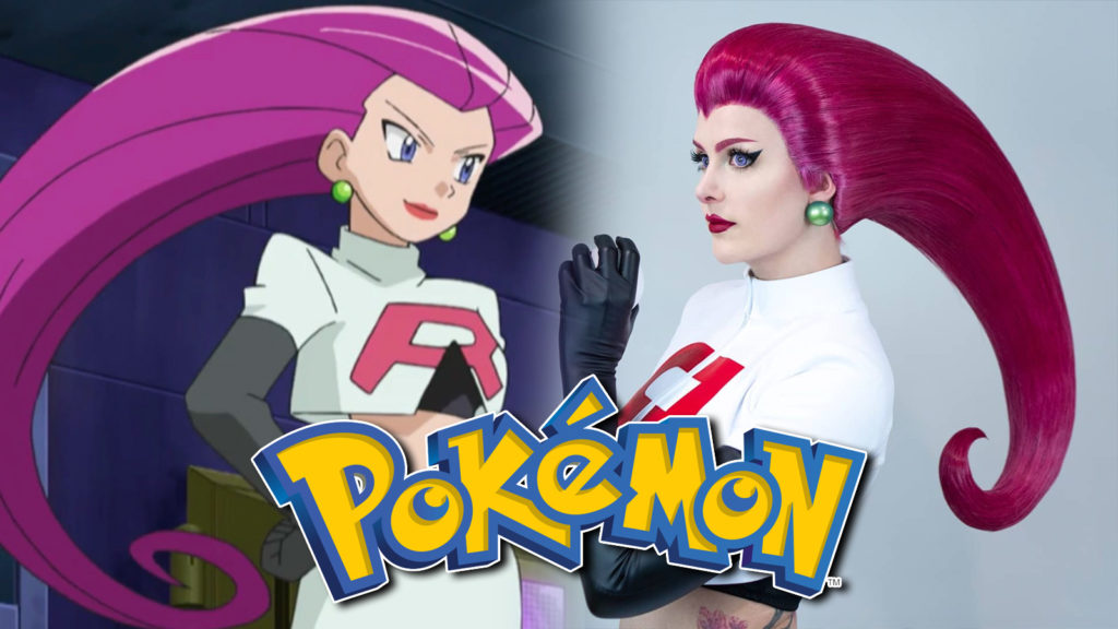 Cosplay Jessie Pokémon Team Rocket