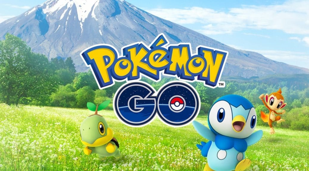 Sinnoh en Pokémon Go