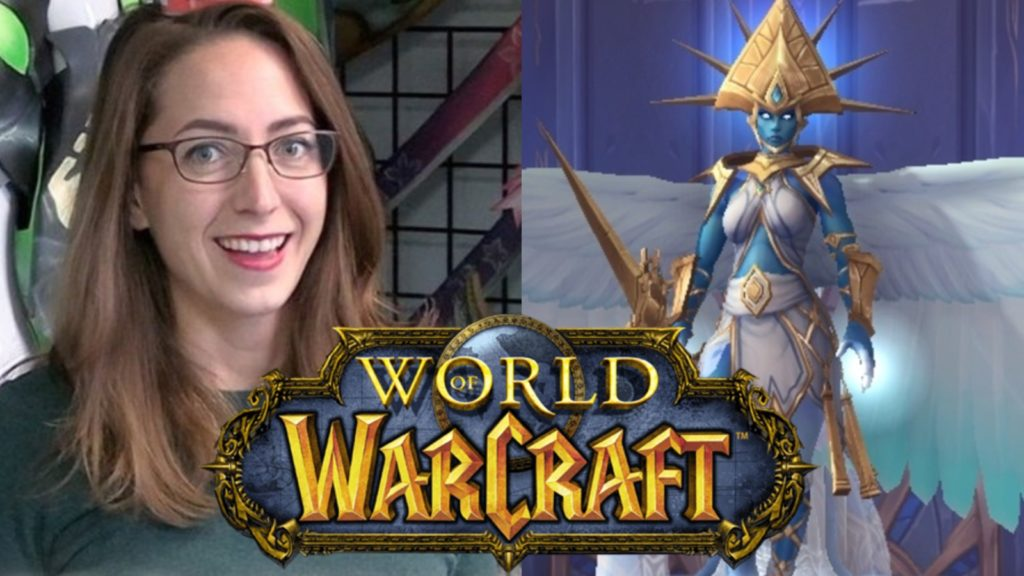 Cosplay World of Warcraft Kyrestia