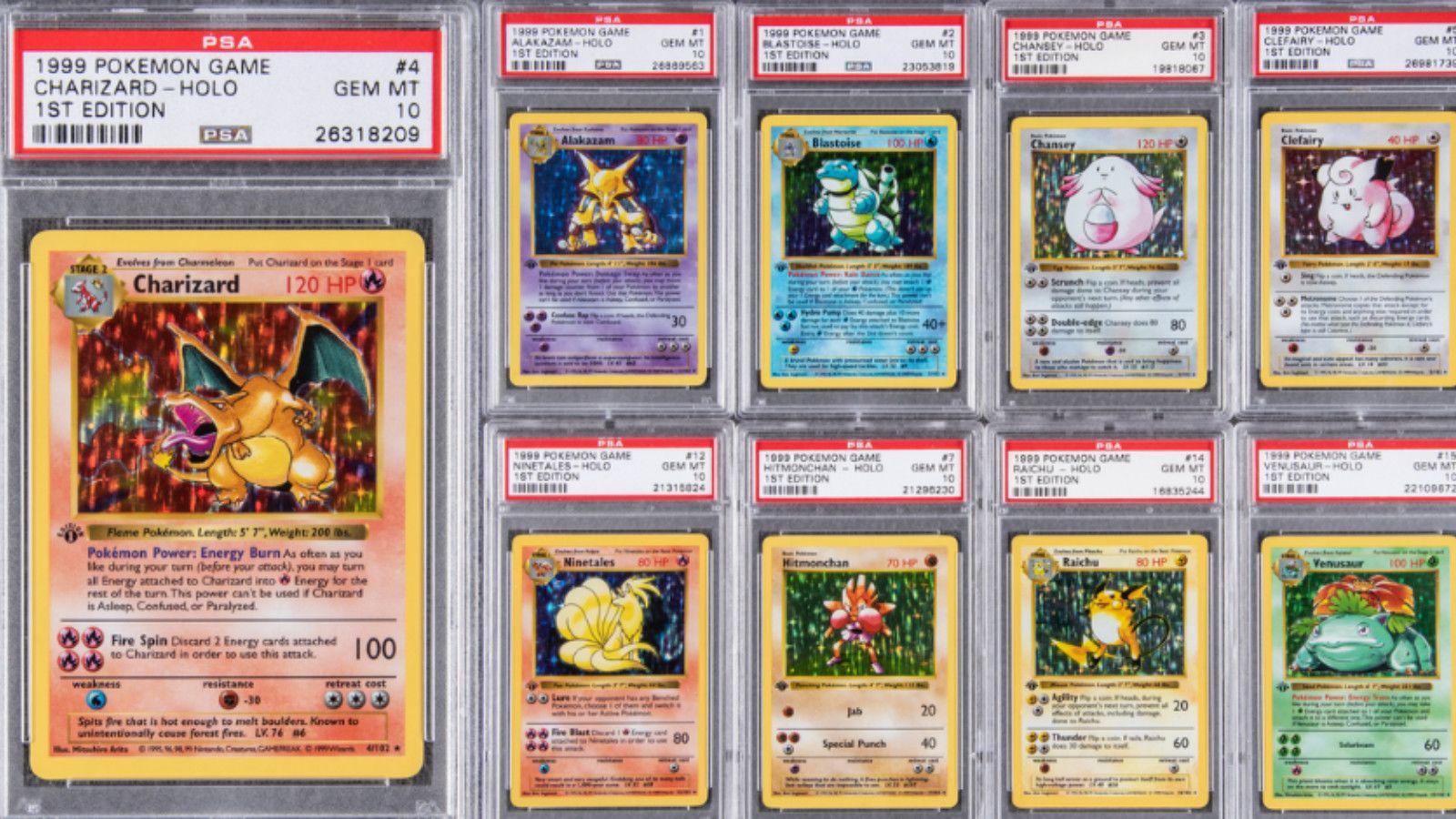 Cartas pokémon colección
