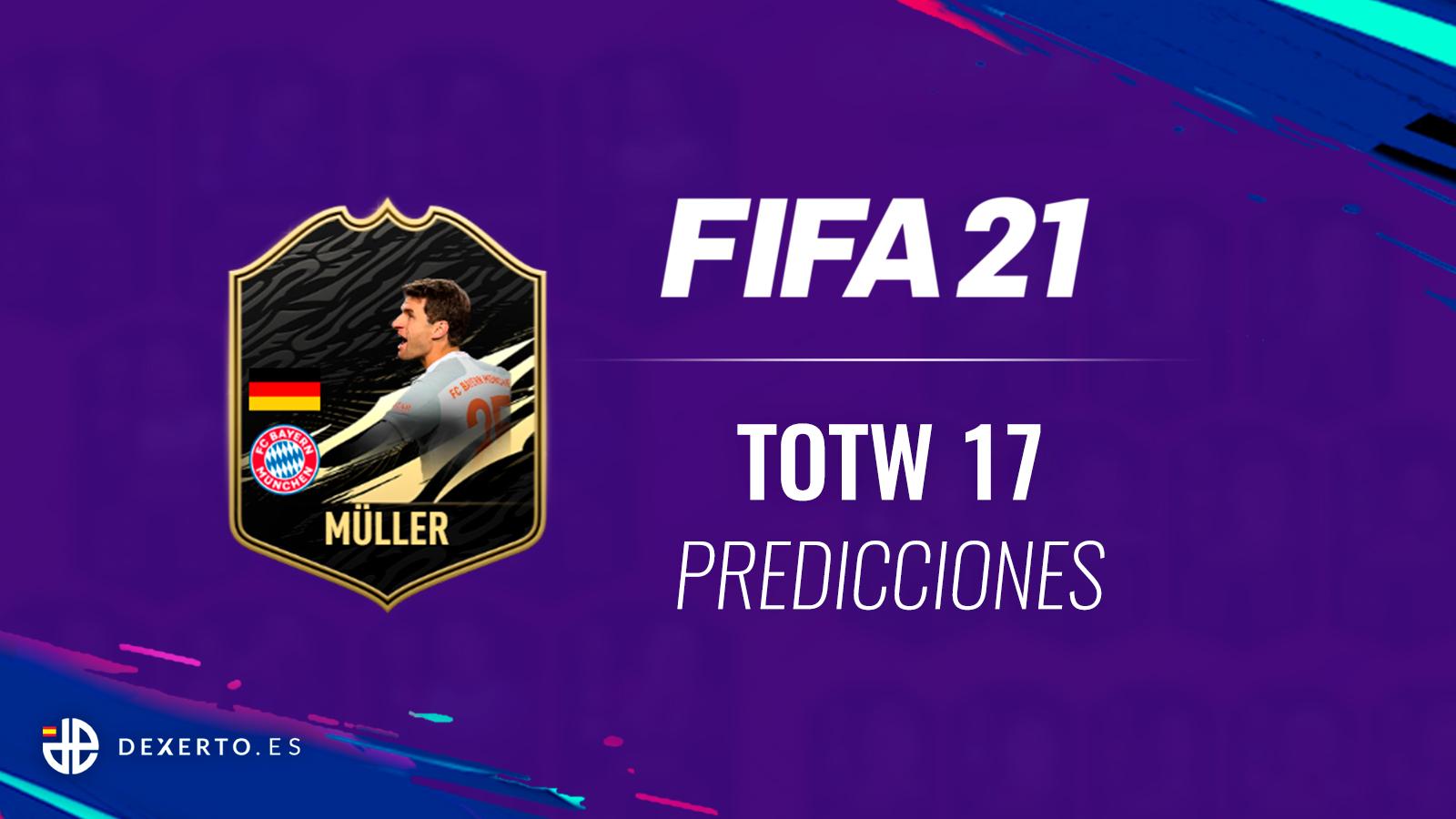 Muller FIFA 21 TOTW Predicciones