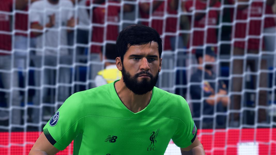 Alisson Becker FIFA 21 TOTW