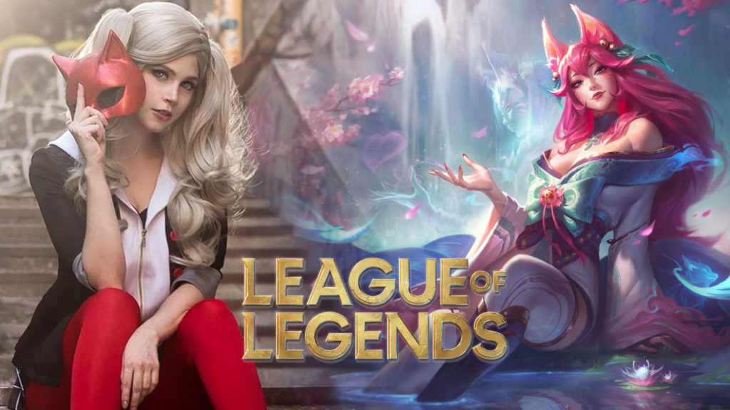 Cosplay Ahri League of Legends