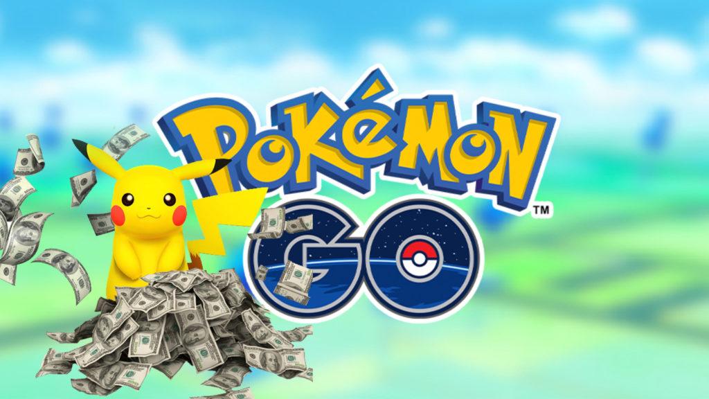 Pikachu en Pokémon Go