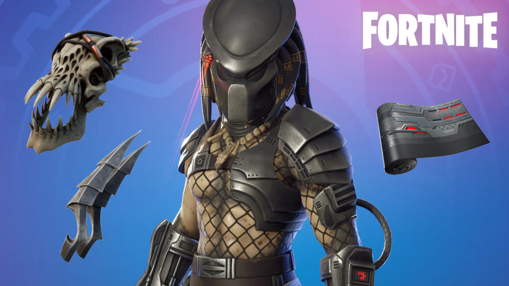Skin de Predator en Fortnite