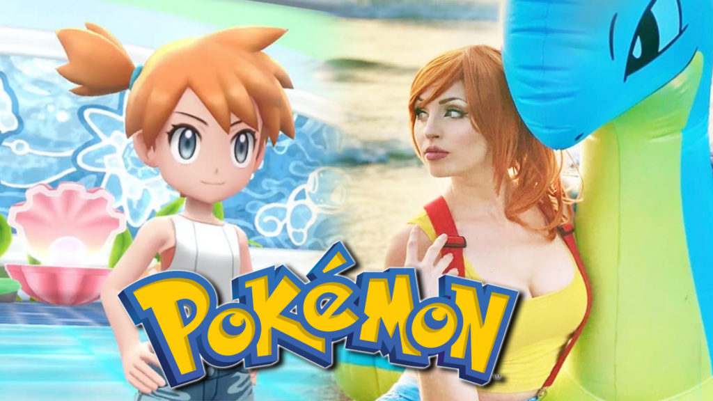 Cosplay misty Pokémon