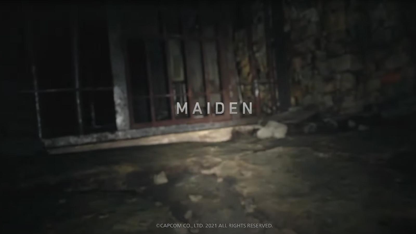 Maiden demo Resident Evil 8 Village