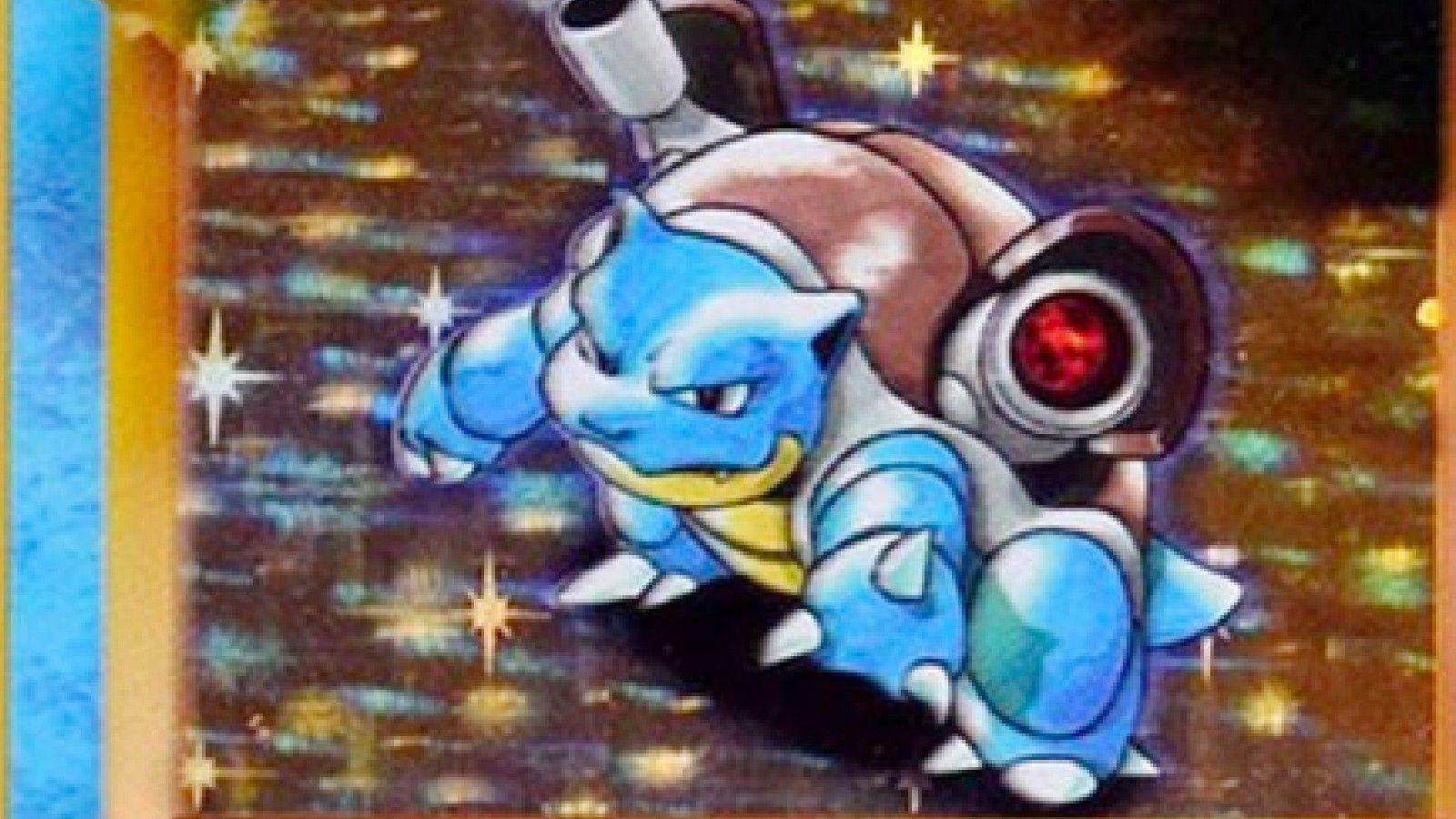 Blastoise cartas pokémon