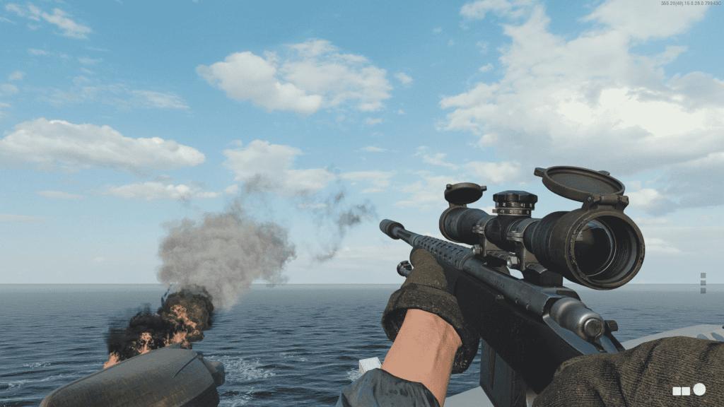 Francotirador en CoD