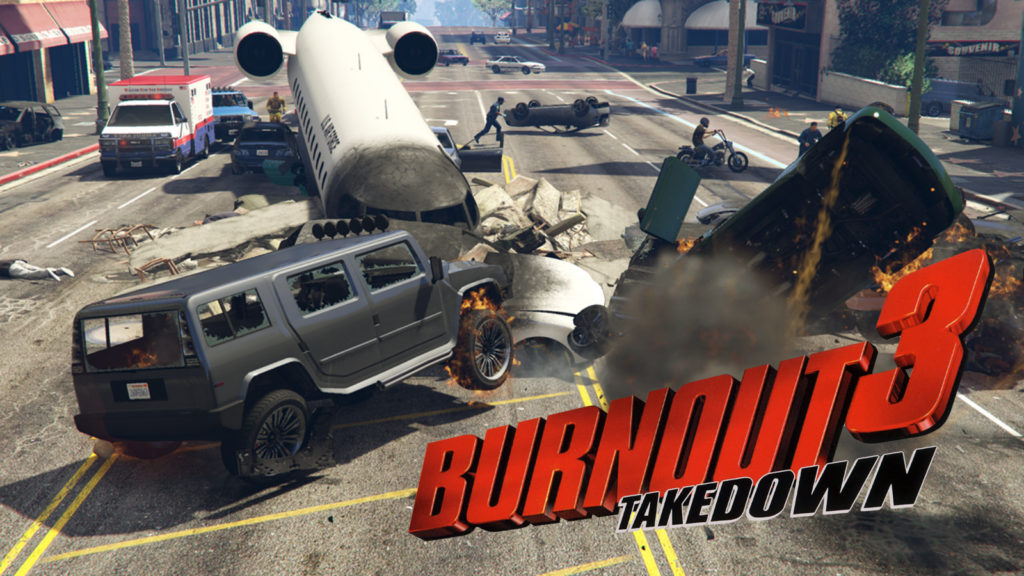 GTA Online carrera Burnout