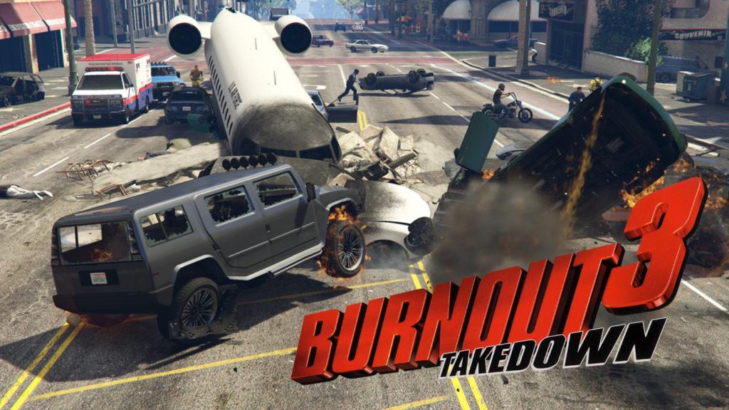 GTA Online carrera Burnout