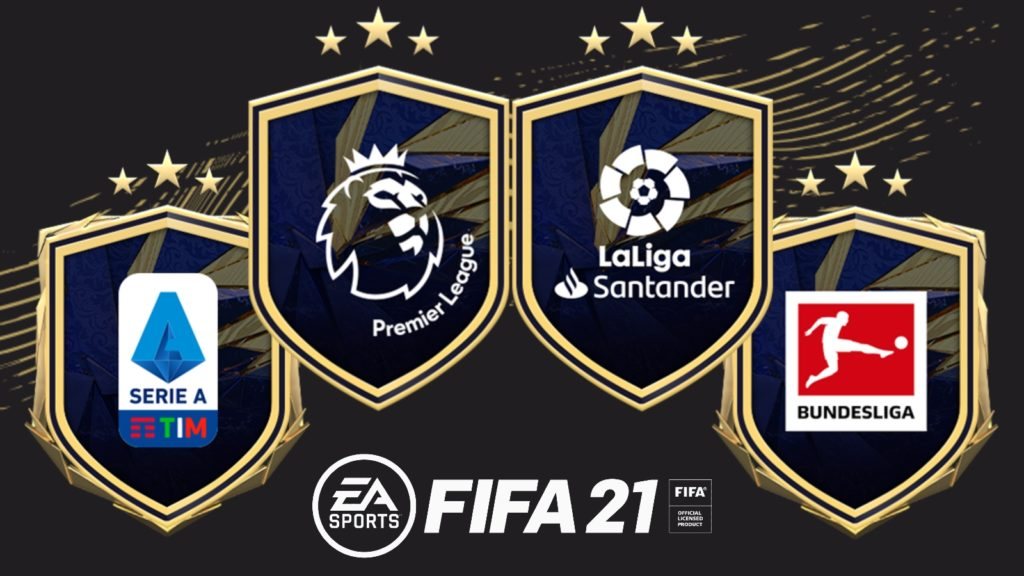 Logos ligas SBC FIFA 21