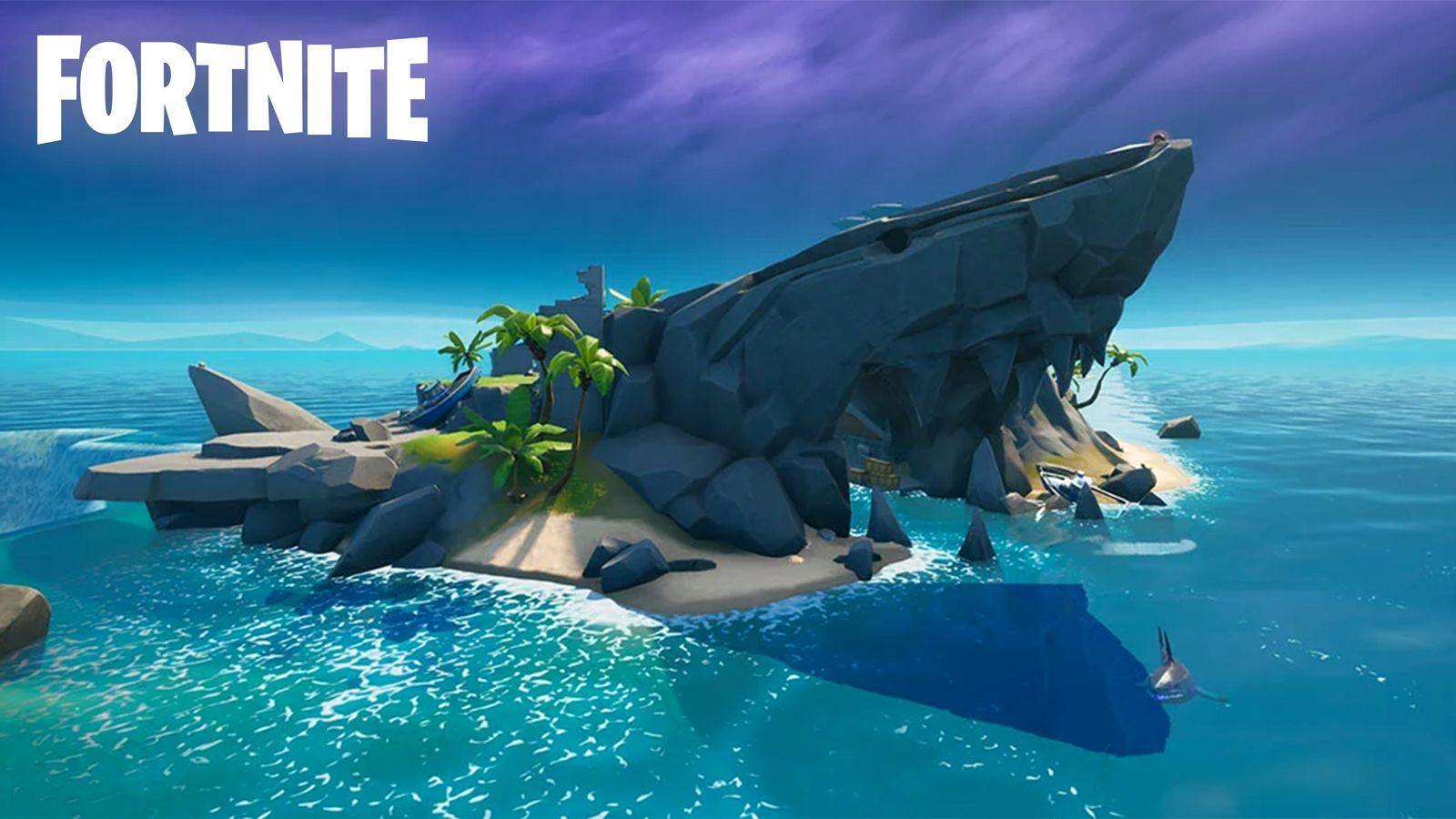 Isla Tiburón Fortnite