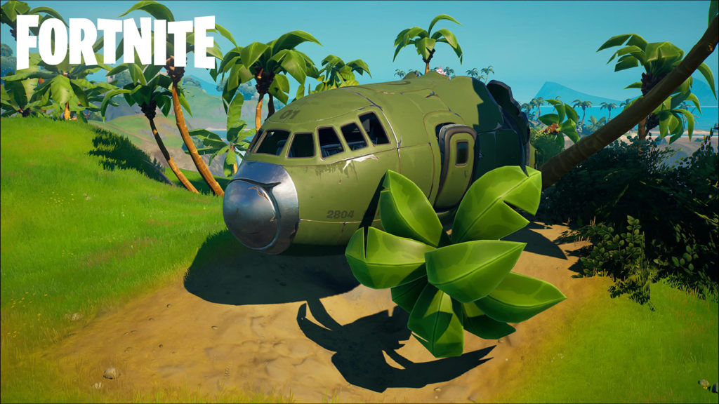 Avión en Fortnite