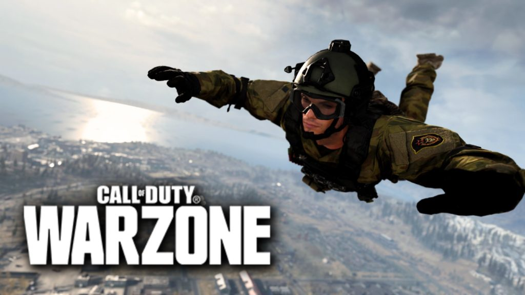 Paracaídas Warzone