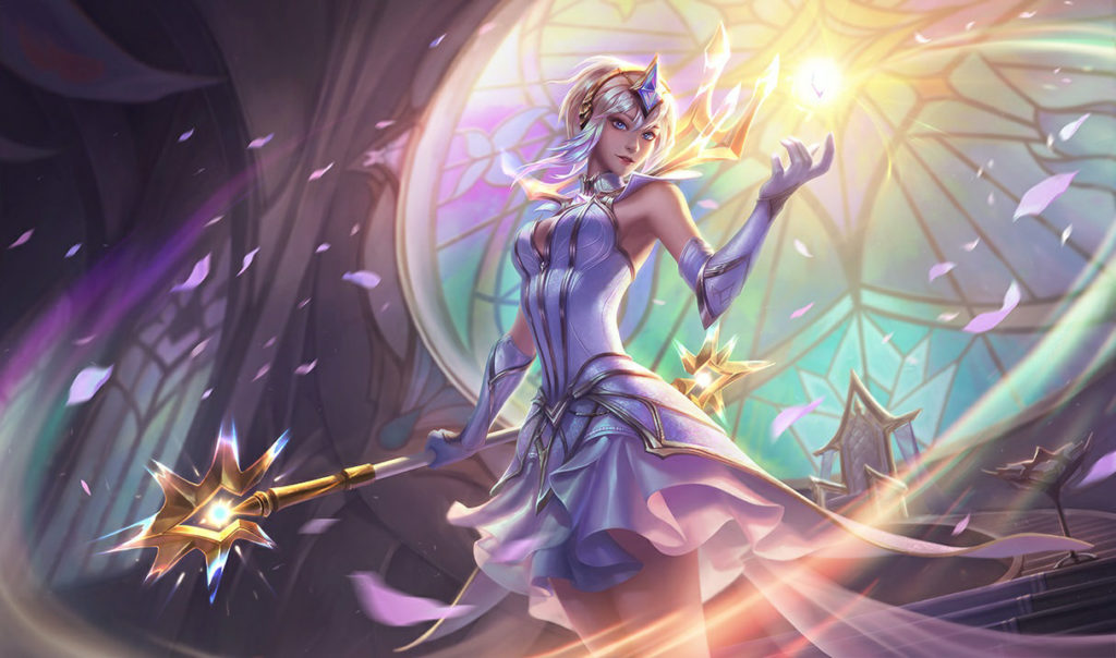 Skin de Lux Elementalista League of Legends