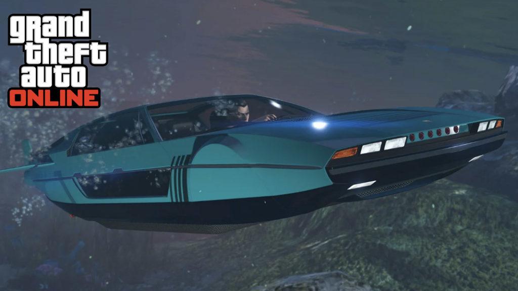 Coche debajo del agua en GTA Online