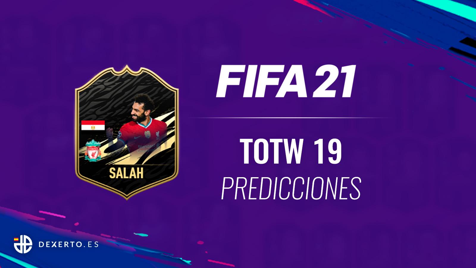 Salah FIFA 21 TOTW 19 Predicciones