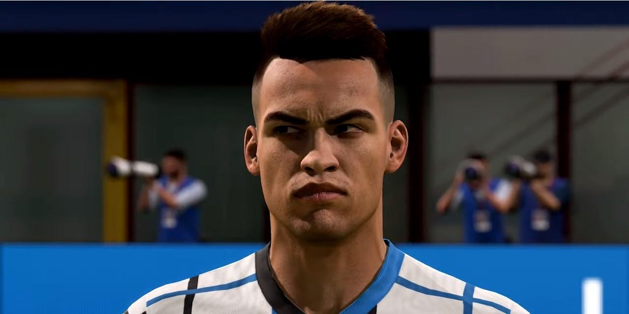 Lautaro en FIFA 21