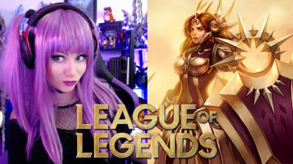 Cosplay League of Legends Leona