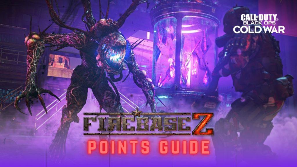 BLack Ops Cold War Zombie Firebase Z