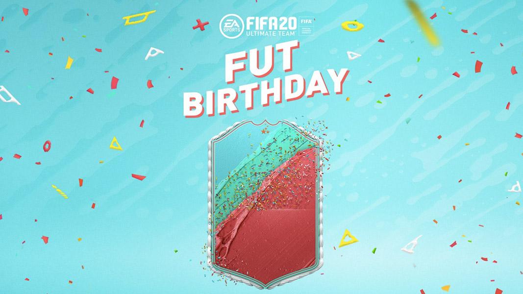 Carta FIFA 20 Birthday