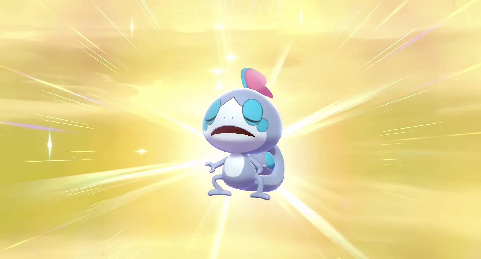 Sobble Shiny Pokémon Espada escudo