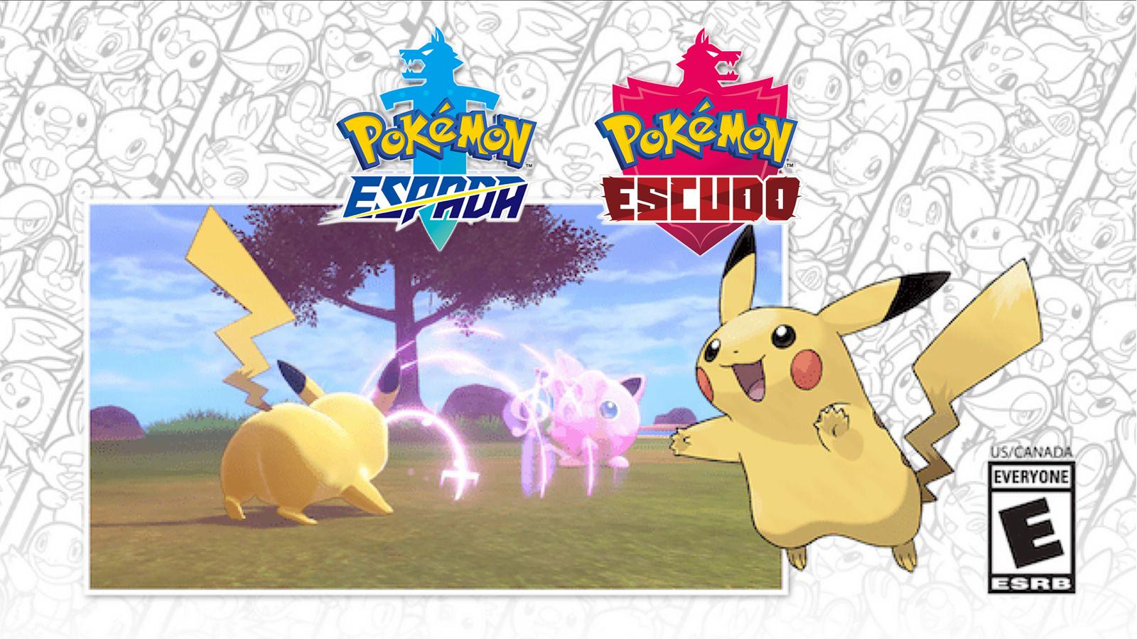 Pokachu promoción Pokémon Espada Escudo concierto