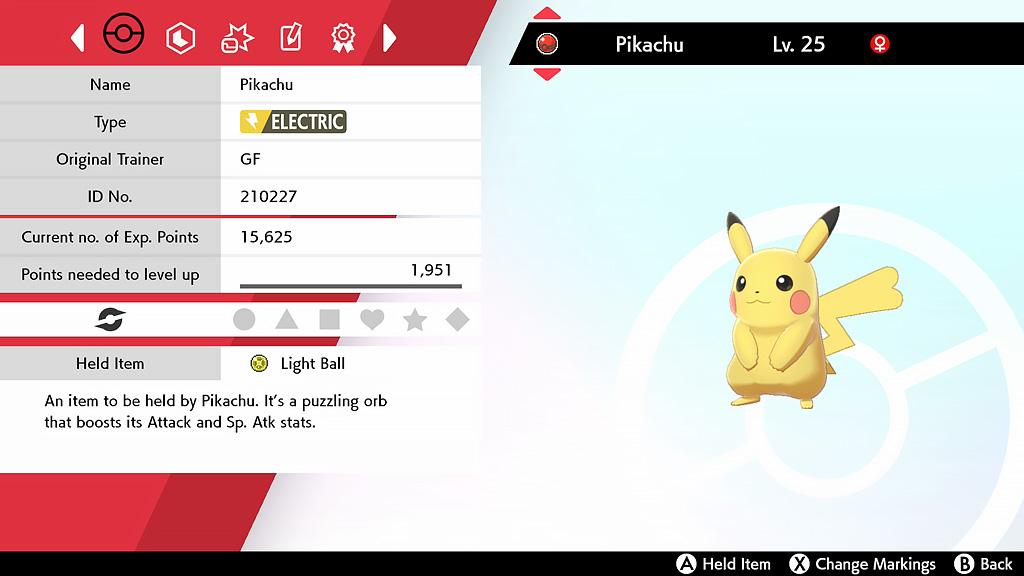 Pikachu concierto Pokémon espada escudo