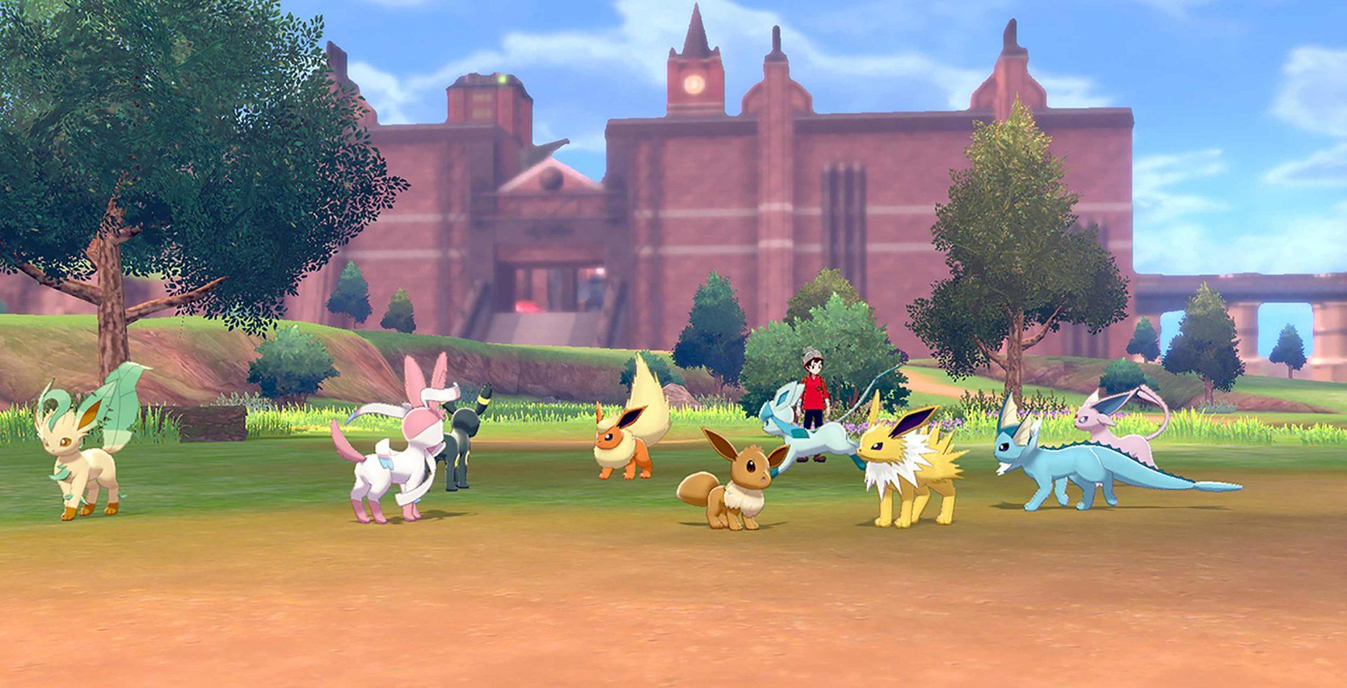 Campamento Pokémon Espada Escudo