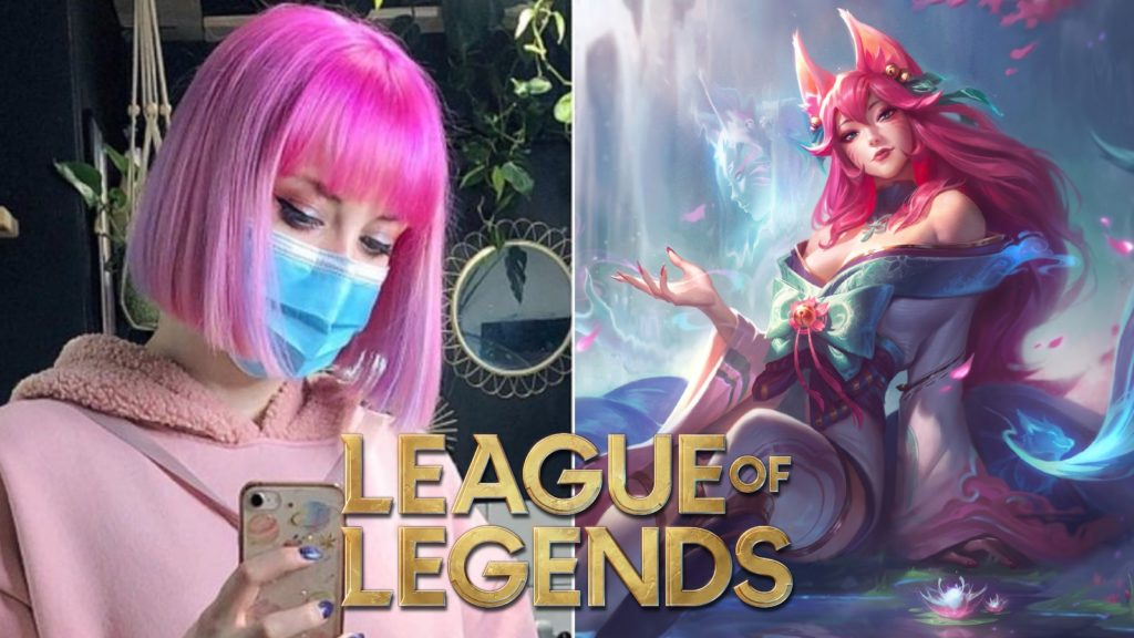 Cosplay de League of Legends Ahri