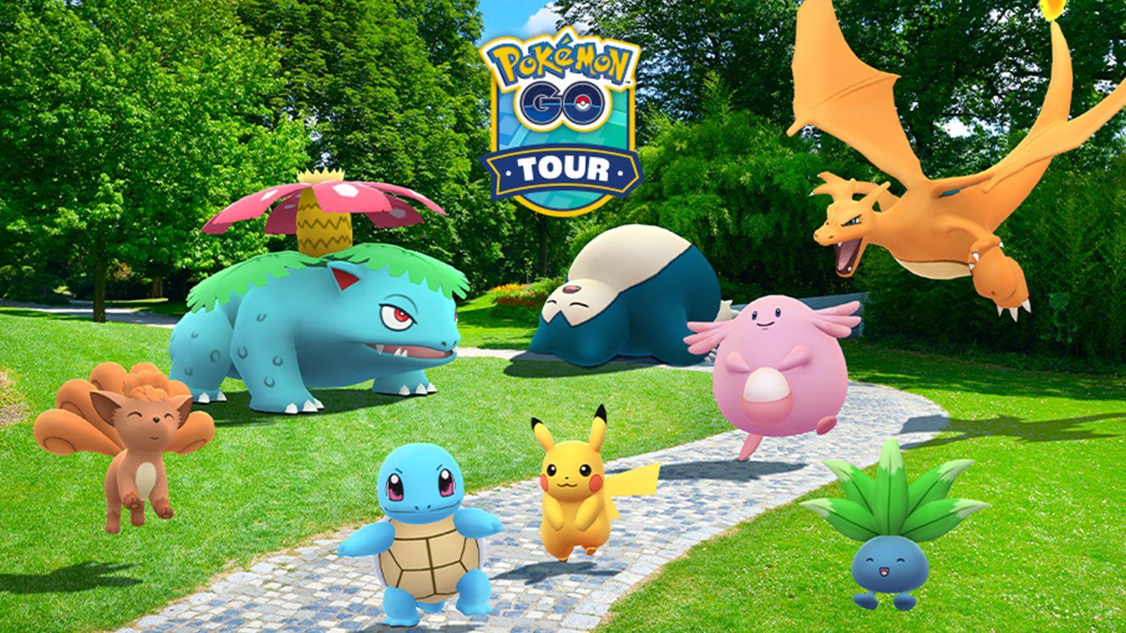Pokémon Go Tour