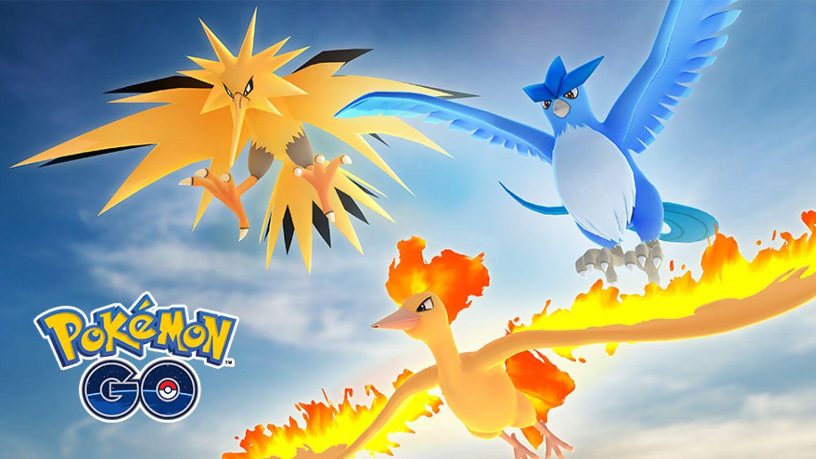 Pájaros Pokémon Go