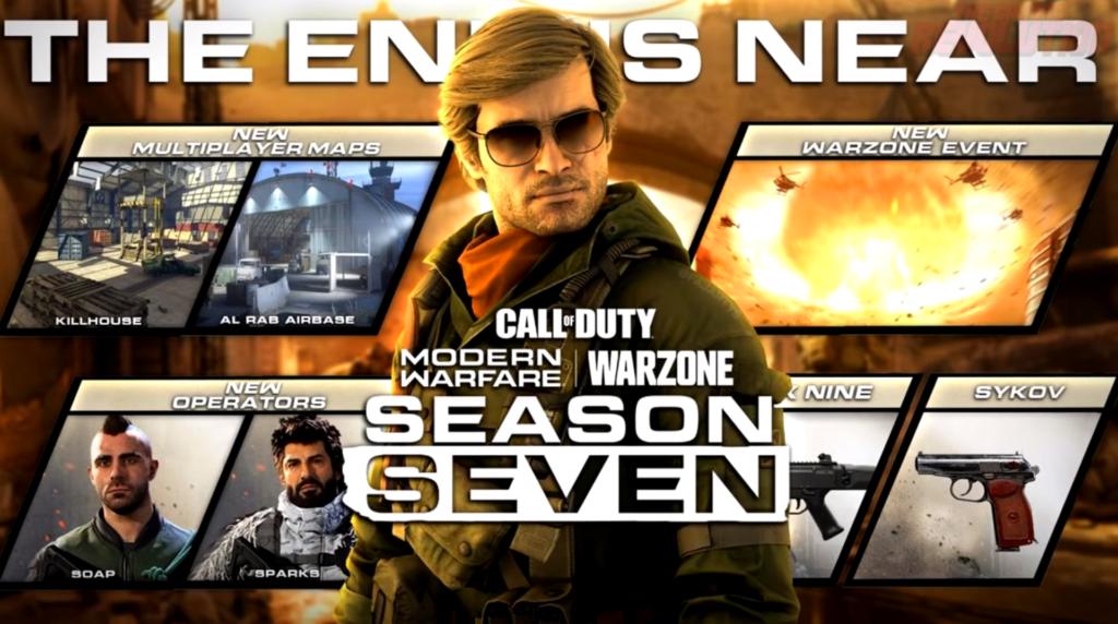 Temporada 7 Modern Warfare