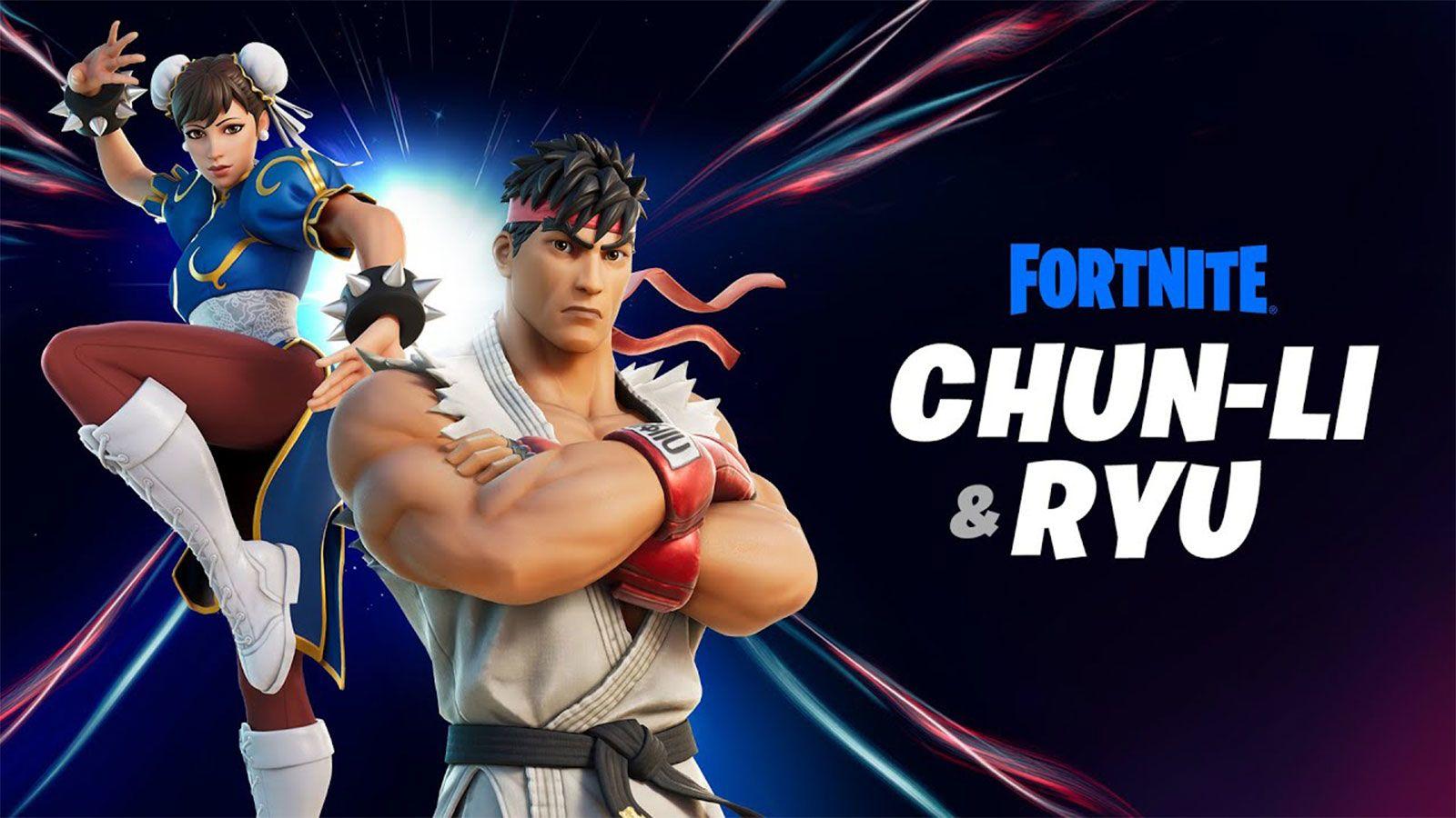 Chun Li y Ryu