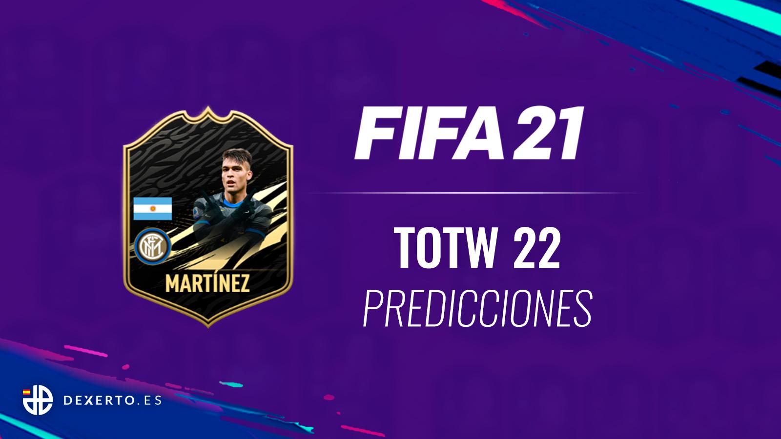 FIFA 21 TOTW 22 predicciones