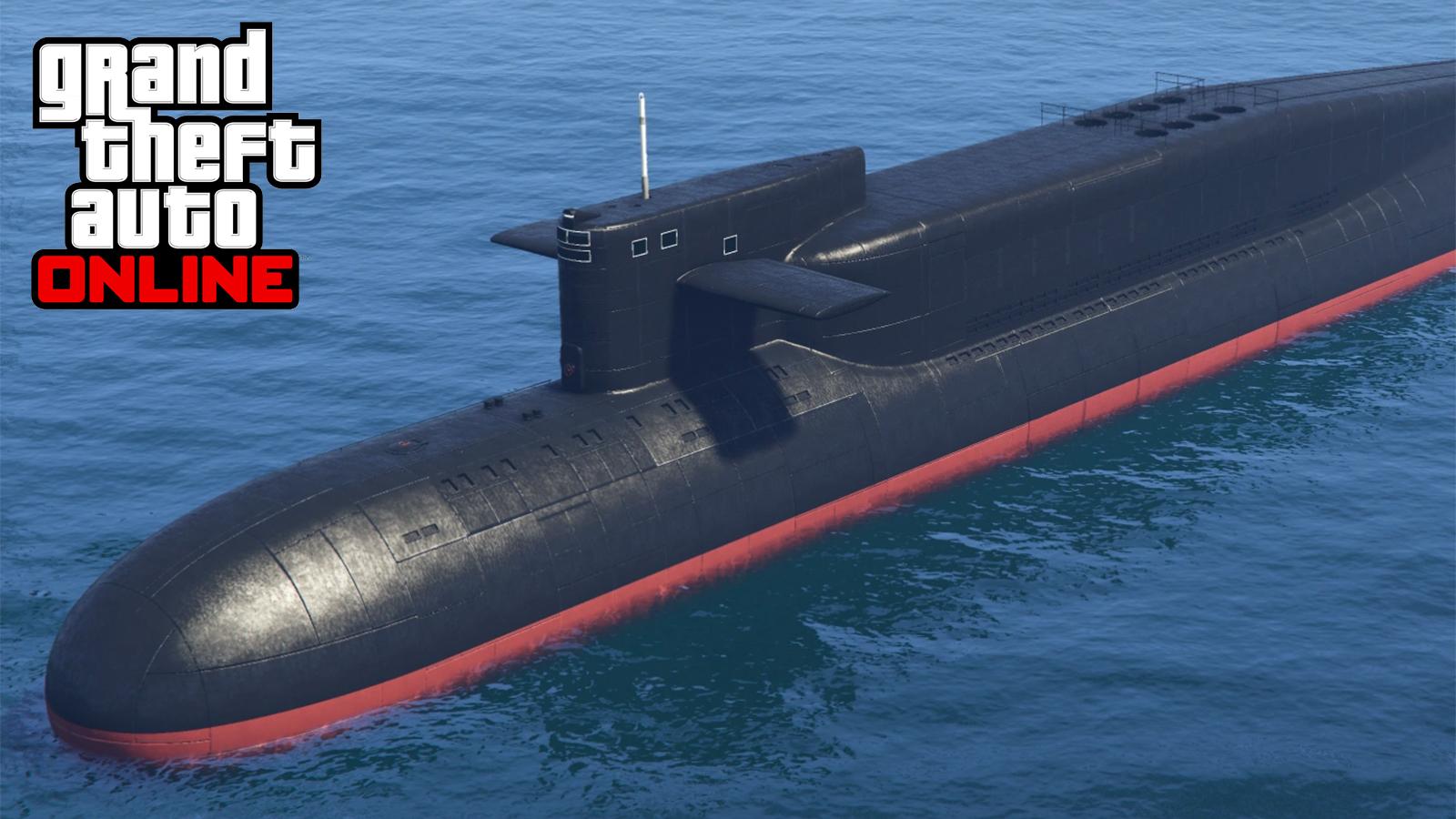 Submarino GTA Online