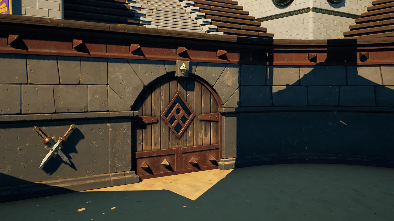 Puerta coliseo