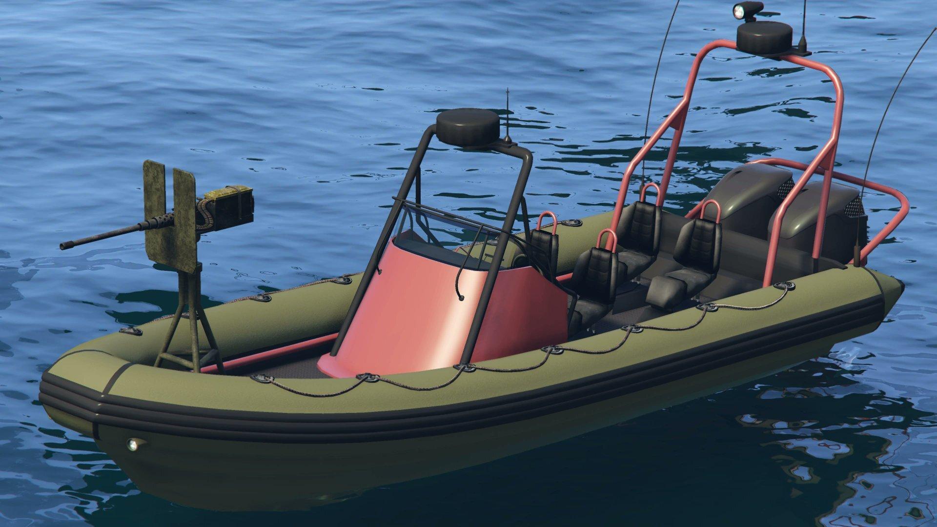 Dinghy armado en GTA Online