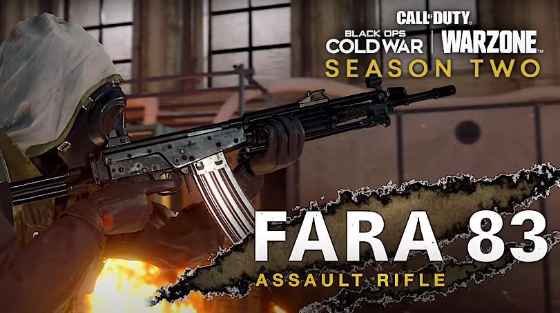 FARA 83 Warzone Black Ops Cold War