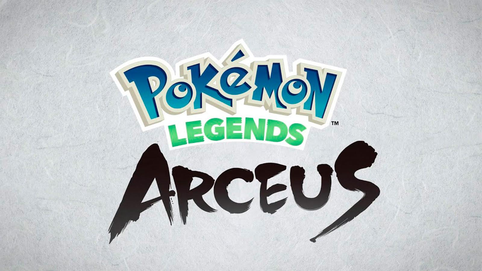 Logo Leyendas Pokémon: Arceus