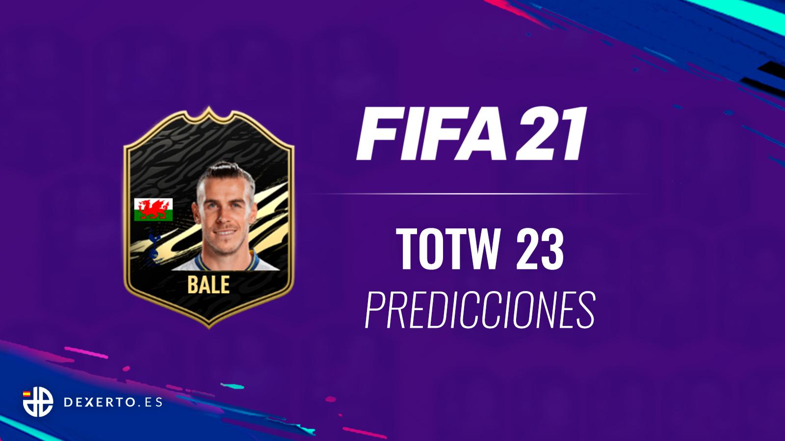 FIFA 21 TOTW 23 predicciones Bale