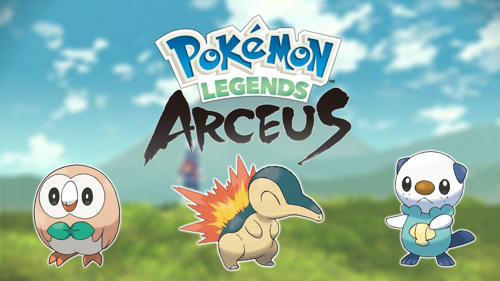 Pokémon Legends pokémon confirmados