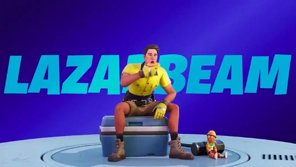 skin Lazarbeam fortnite