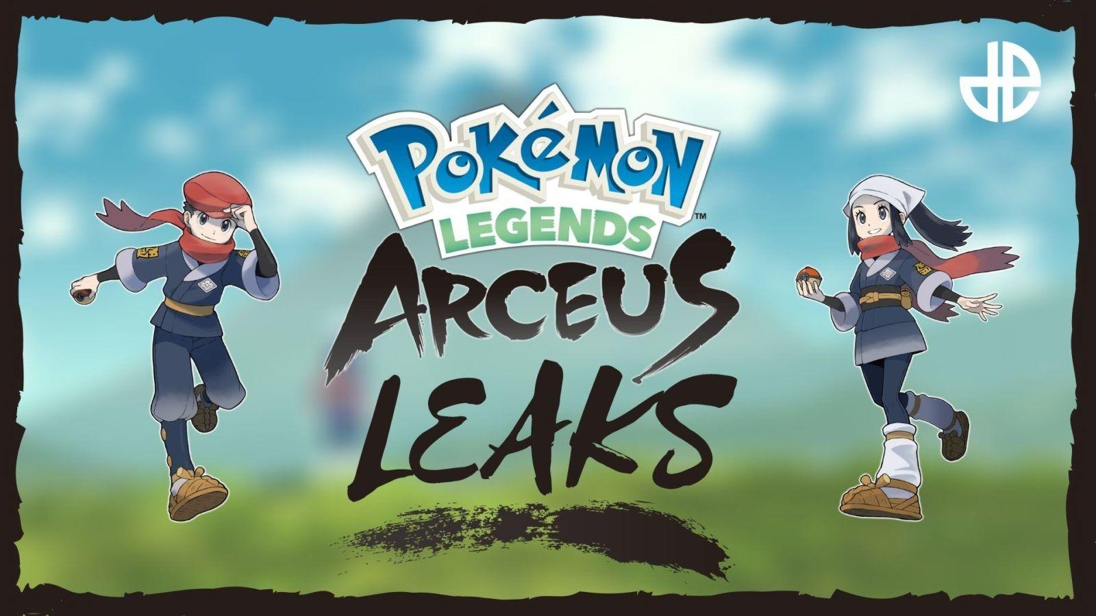 Pokémon legends arceus filtraciones