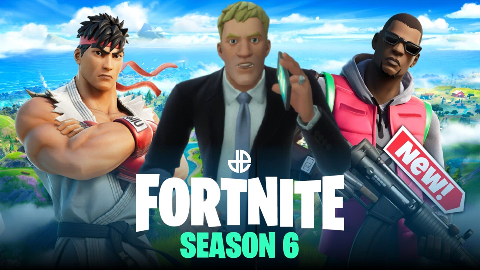 características fortnite temporada 6